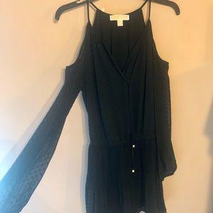 Michael Kors off the shoulder mini dress